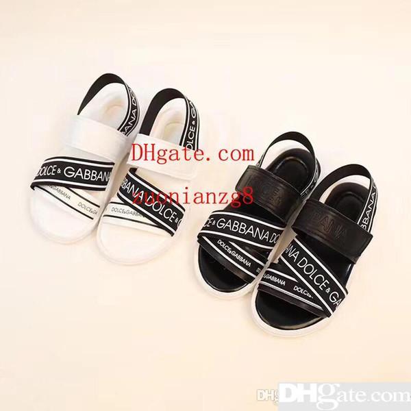 Meninos da moda Sapatos de Grife Sandálias Meninos para Venda Meninos Da Criança Sandalias Sapatos de Grife para Calçados Infantis com Caixa