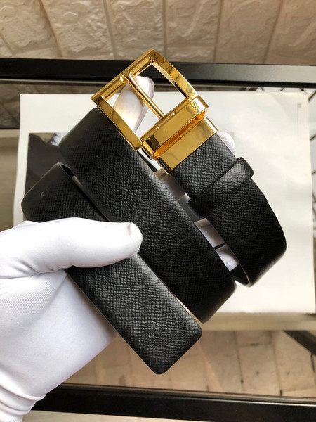 Hot Sale Brand Men Casual Designer Belts All-match Fashion Women Belt Gold and Sliver Needle Buckle Leather Belt with Original Box
