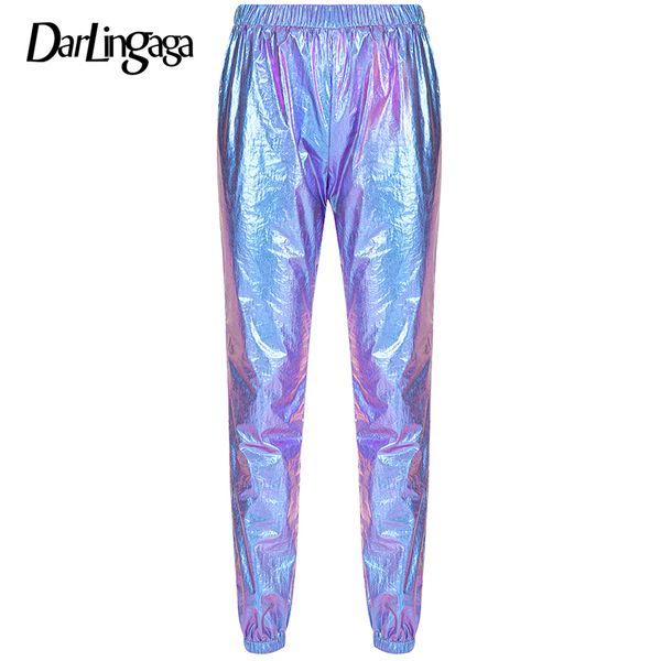azul calças roxas