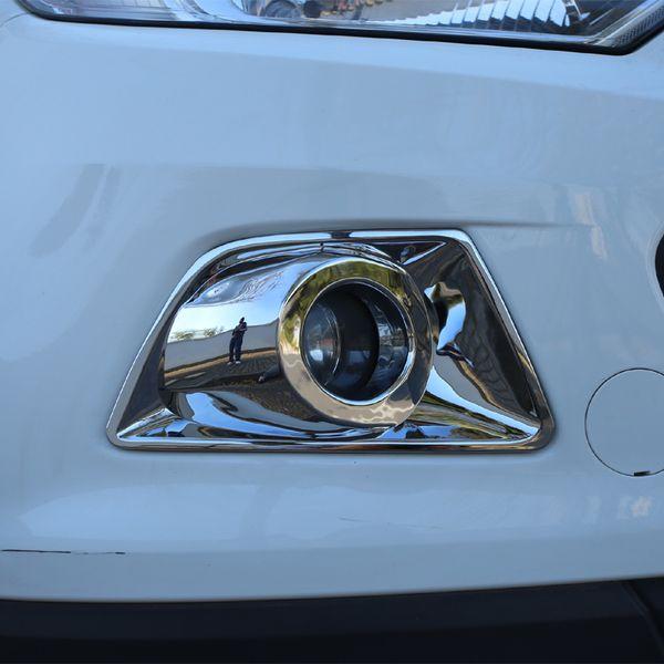 Foal Burning ABS Chrome Auto Nebelscheinwerfer Lampen Schutzabdeckung Aufkleber für Ford Ecosport 2013 2014 2015 2016 2017 Zubehör
