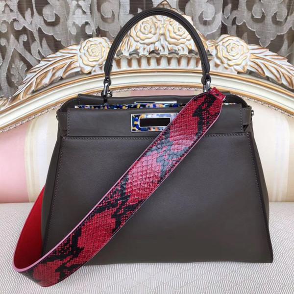20190504002 2019 genuine leather luxury handbags women bag runway desigin female Europe brand top quality free shipping of dhl