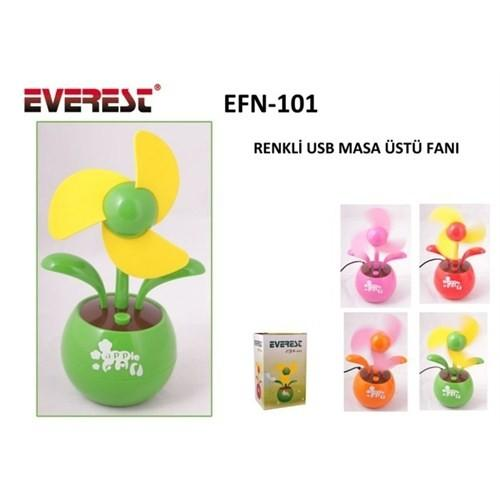 top popular Everest Efnan-101 Mixed Color Usb Fan Ship from Turkey HB-000044251 2019