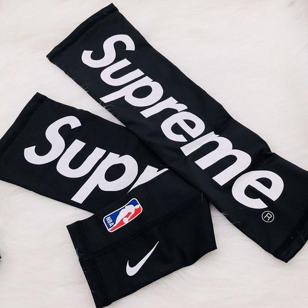 2019 18FW Sup Arm Shooting Sleeve Streetwear Hypebeast Fleece