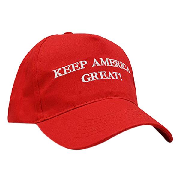1 Adet Amerika Büyük Donald Trump Tutun Ile ABD Bayrağı Kap Ayarlanabilir Beyzbol Şapka Kırmızı