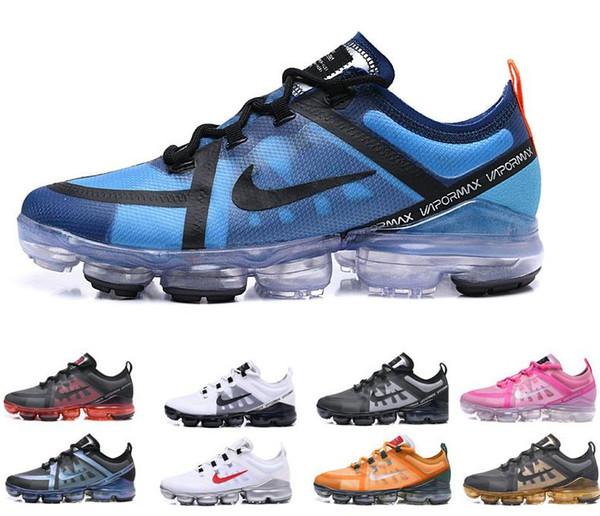 Compre Nike Air Vapormax Max Off White Flyknit Utility Vapormax 2019 Chaussures Hombres Zapatillas De Running Mediano Oliva Borgoña Hombres Zapatillas