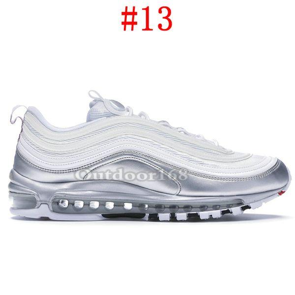 #13-Silver White