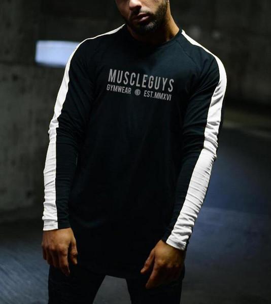Satın Al Moda Kişilik Sonbahar Giysileri Uzun Kollu T Shirt Erkek