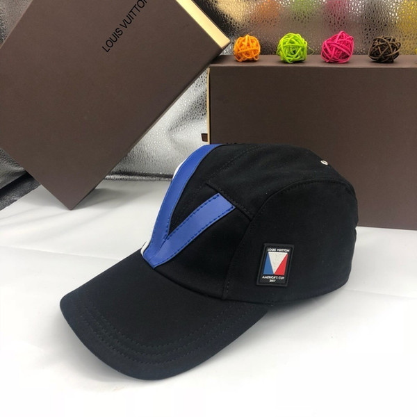 Baseball cap 2019 spring and summer V word woolen trend new listing simple and comfortable breathableat