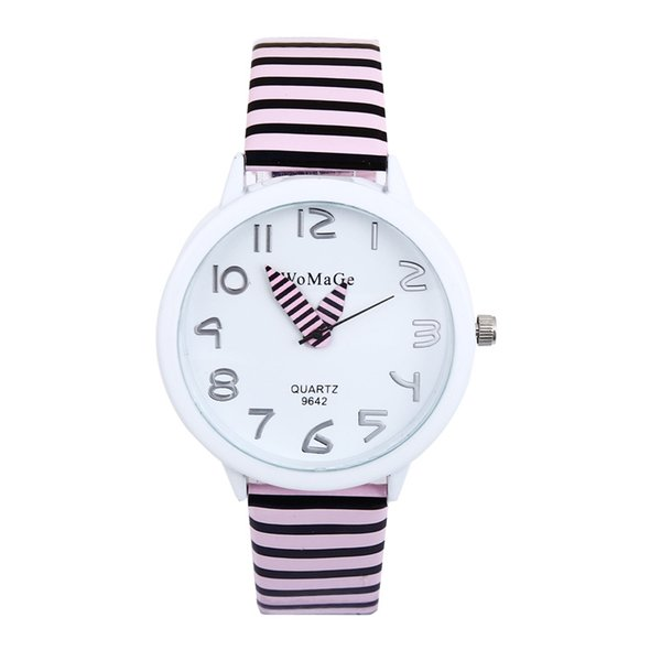 Lápiz de gama alta Puntero Reloj de dibujos animados Reloj de cuarzo para niños en general para hombres y mujeres