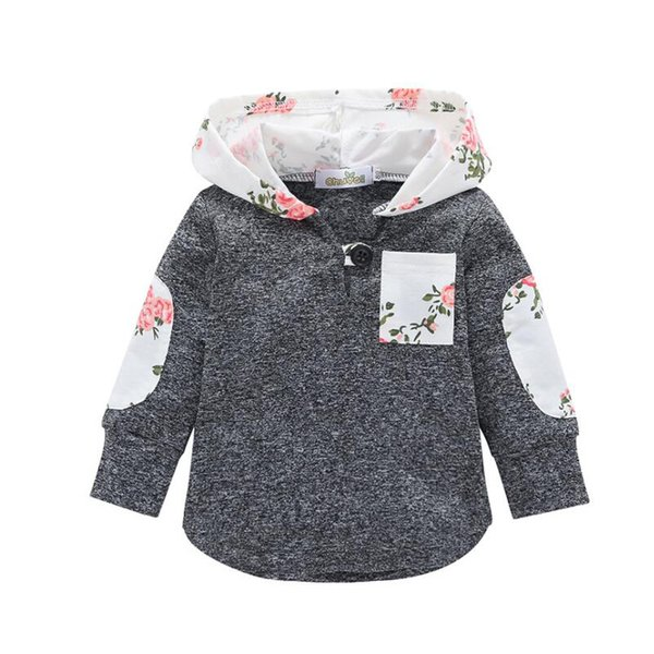 quality apring autumn fashion coats new girls boys casual sport clothing coats for children kids cotton print hoodie outerwear