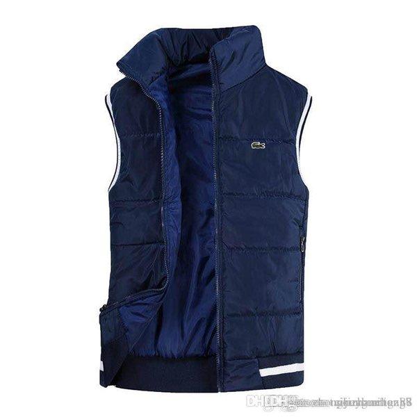 Yelek Erkekler Yeni Şık Sonbahar Kış Sıcak Kolsuz Ceket Ordu Yelek erkek Yelek Moda Rahat Mont Erkek Rüzgar Geçirmez Ceketler