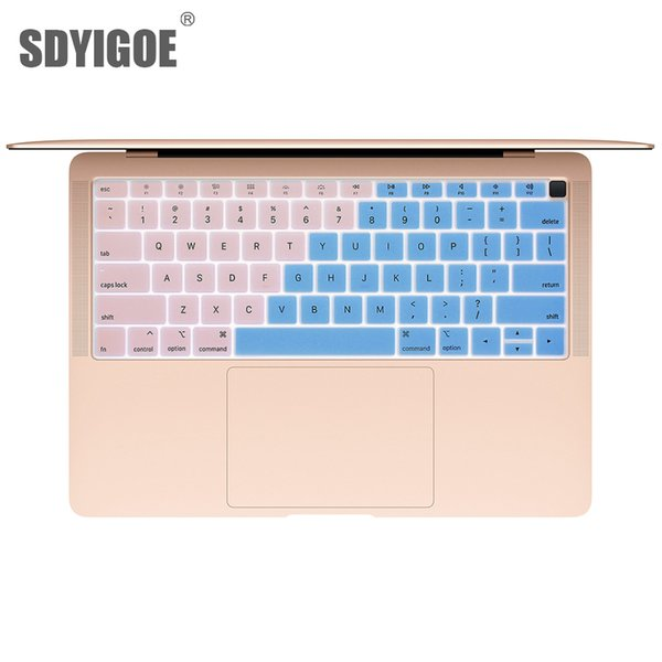 """2018 style Notebook Keyboard Cover For macbook """" A1932 protective film Silicone Laptop Waterproof Keyboard Protective Film"""