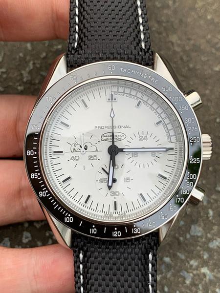 Montre de luxe vente chaude montres mens VK snoopy montre-bracelet 4 style bracelet en acier Montre en nylon bracelet mens série quartz montres en céramique