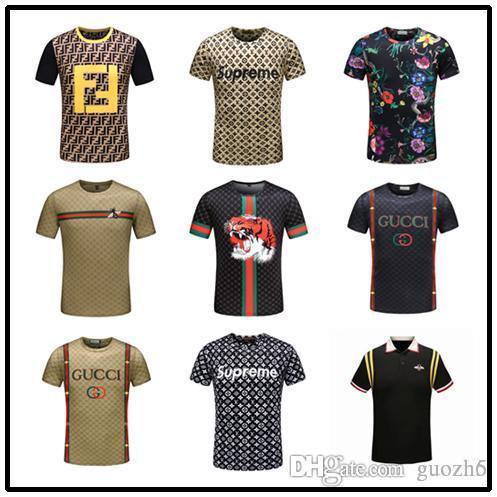 19ss Mens grandi e alti Designer di abbigliamento citi trends Abbigliamento T shirt homme Orlo curvo Tee bianco tinta unita T shirt coreana