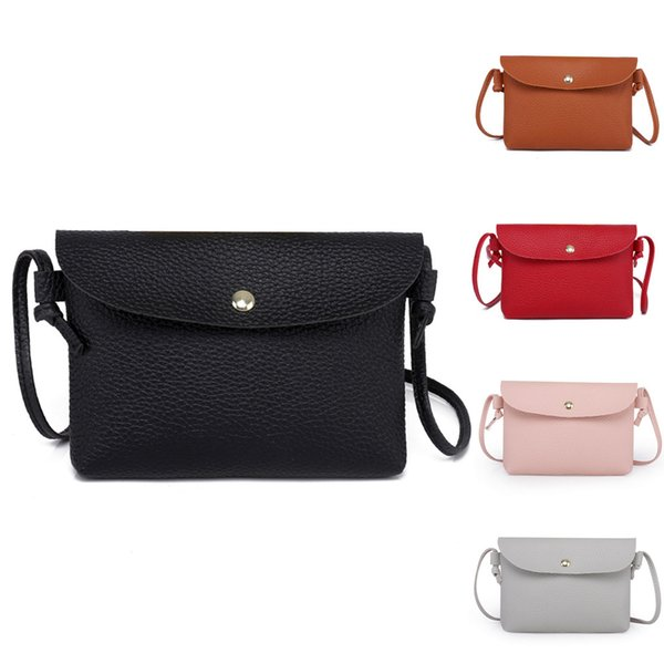 Women Leather Crossbody Bag Pure Color Shoulder Bags Messenger Bag Coin Designers Luxury Dropshipping For Women#40