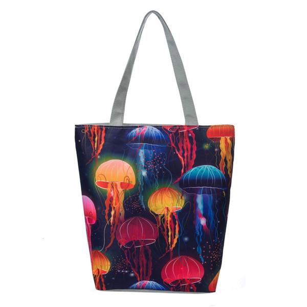 2019 Cheap Fashion National Wind Canvas Tote Casual Beach Bags Women Shopping Bag Handbags Designer Famous Brand Handbag