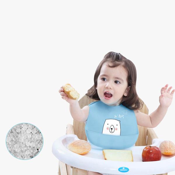 Étanche Bébé Dessin Animé Bavoirs En Silicone Burp Chiffons Toddler Enfants Tablier Réglable Alimentation Saliva Bandana