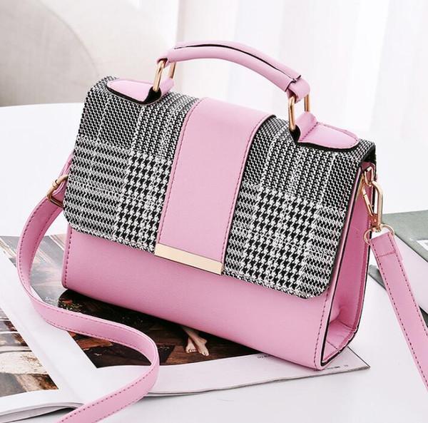 Европейская и американская тенденция женской 2018 новая волна женская сумка корейской версии диких Messenger сумка сумка модная сумка # 006