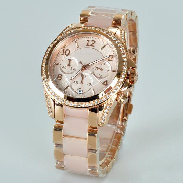 luxury orologio Women diamond Watches famous Brand wistwatches waterproof gold relojes quartz female Michael montres