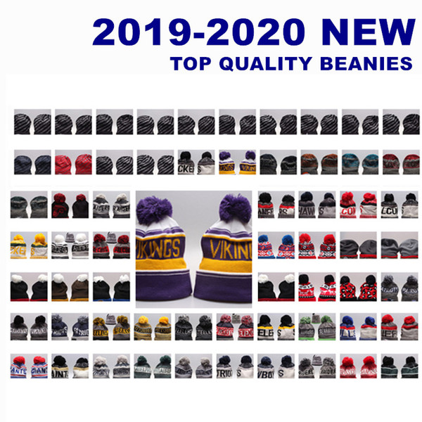2020 Newest Amercain Winter beanies 32 Team football hats beanie knitted caps SPORT outdoor Men baseball hat high Quality for sale