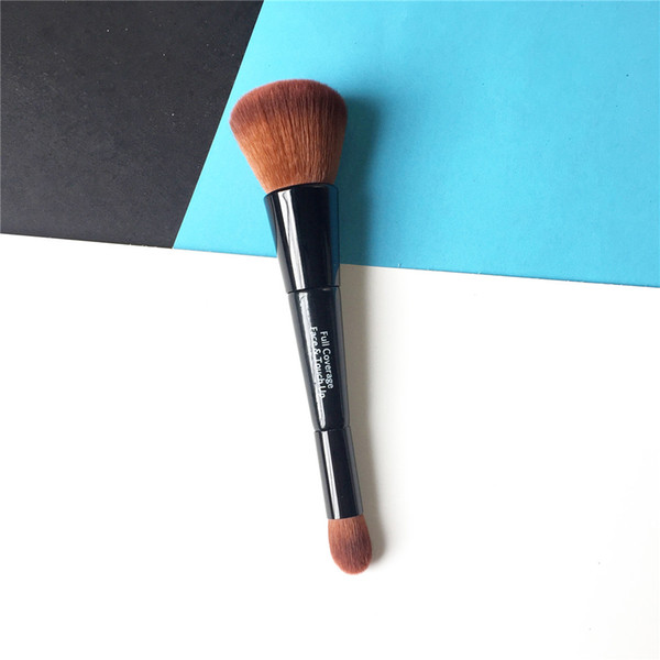 Восстанавливающая кисть для лица bdbeauty - двусторонняя тональная кремовая корректирующая кисть - инструмент для макияжа и макияжа