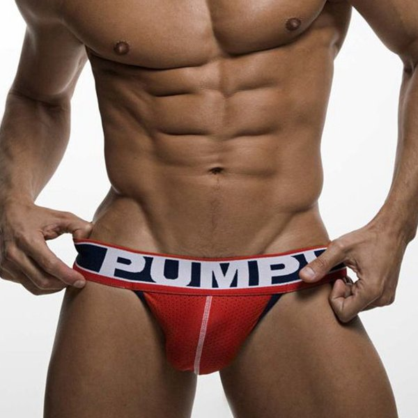 top popular New mesh fabric breathable men's underwear super elastic solid color men's T underwear wholesale HH 002 2019