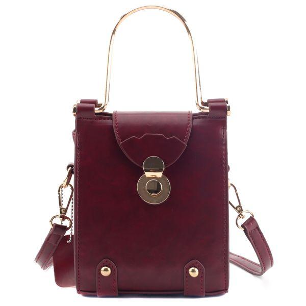 Designer in pelle di moda Vintage bag Tela Standard 2019 unità di elaborazione di nuova alta qualità delle donne borsa di blocco Shoulder Bag Messenger Borse