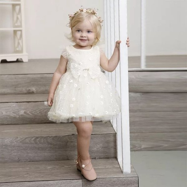 7052c4a65 2019 Baby Girl Birthday Party Dress High Quality Cute Baby Clothes ...