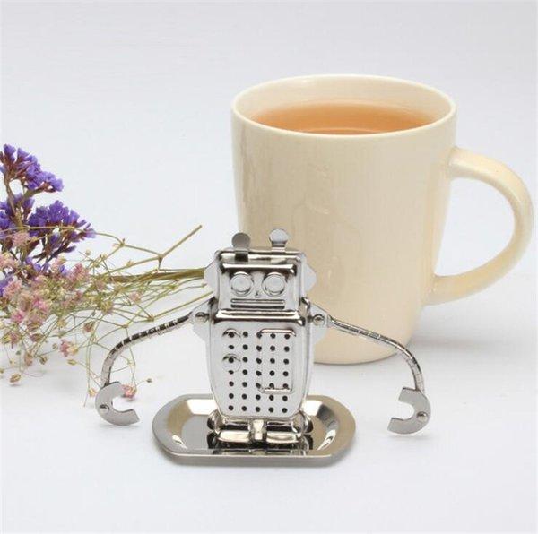 Smart Robot Tea Infusore Portabicchieri In Acciaio Inox Allentato Tea Leaf Tea Filtro con Gocciolatoio per le parti domestiche accessori da cucina