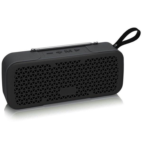ABSQ New Fm Radio Wireless Best Bluetooth Speaker Waterproof Portable Outdoor Mini Column Box Loudspeaker Speaker Design