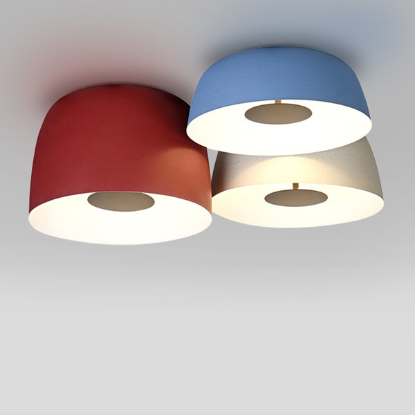 Luce di soffitto Spagna Design Lampada a soffitto Moderna Ins LED colorato per il salone / camera da letto / Office Home Indoor Light Fixture 90-260V