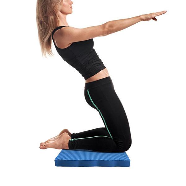 Kapalı yoga dizlik fitness bahçe diz çökmüş pedleri diz çökmüş yüksek yoğunluklu eva köpük kalın yastık diz koruma