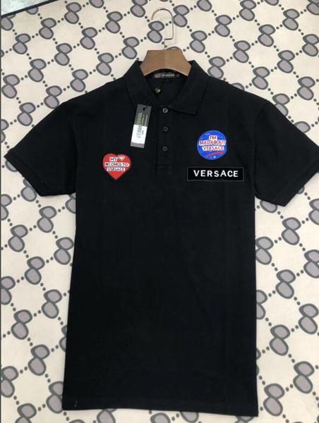nouvelle marque d'été Hommes Polo Marque broderie Chemise manches courtes Hauts cheval Polo Vêtements Homme Mode Casual Polo