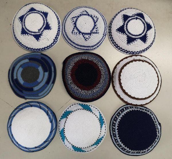 ALTA QUALITA 'lavorata a maglia Handmade kippah