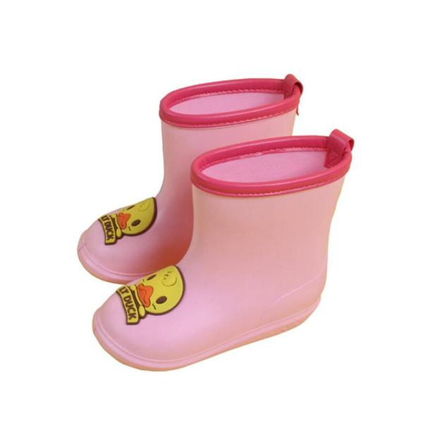 Waterproof Toddler PVC Rubber Baby Rain Boots Kids BoyS Girls Cartoon Shoes New