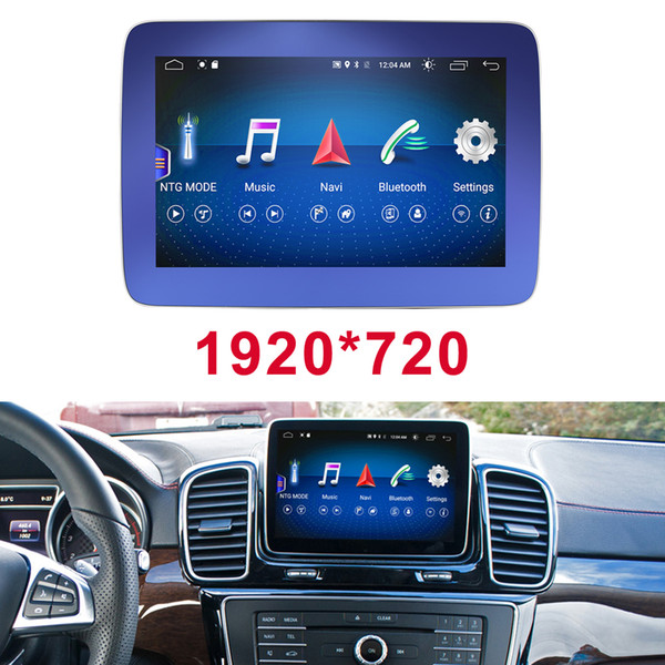 "4G+64G 8.4"" Android Display Car Radio Multimedia Monitor GPS Navigation Head Unit for Mercedes Benz ML350 ML400 ML550 ML250 ML350 ML63"