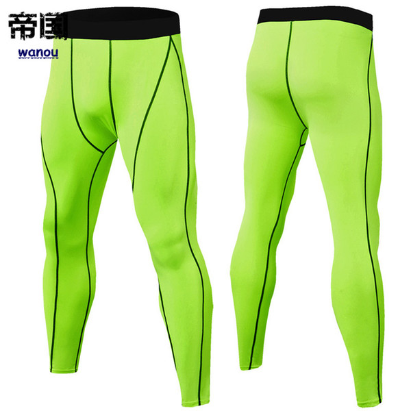 official store for whole family discount shop 2019 Sportswear Bodysuit Men NEW Green Pants Fitness Sports ...