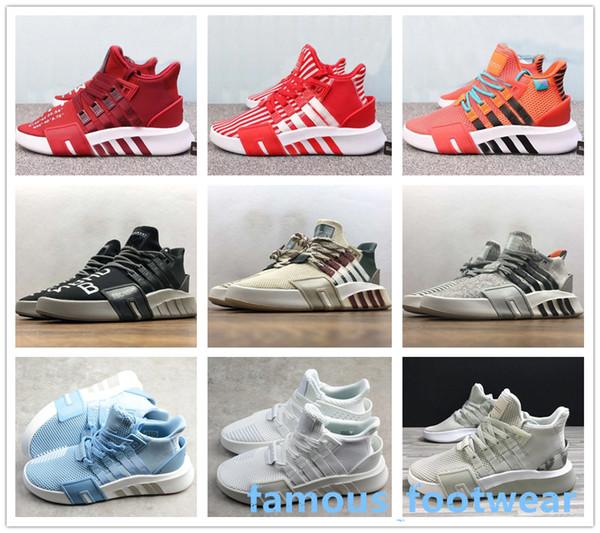 Großhandel Herren EQT Bask ADV Oliv Laufschuhe Braun Damen Weiß Schwarz Originals Klassische Lässige Sportschuhe Schuhe BBC Sneakers Von