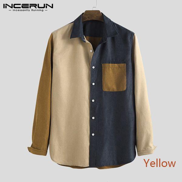 Chemise jaune