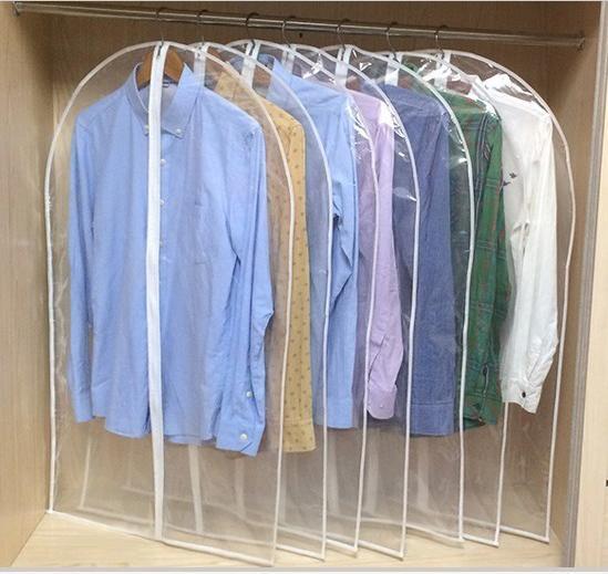 Vêtements Clear Dust Covers Home Storage Protect Cover Sac De Voyage Pour Vêtement Costume Robe Vêtements Affichage Coat