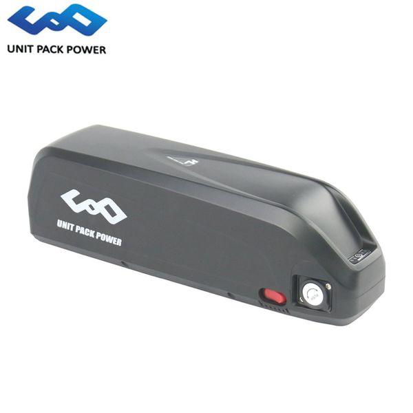 Hailong Shark Battery 52V 13Ah eBike Batería de litio con USB para bafang bbs02 BBS03 750w 1000w Motor eléctrico de bicicleta