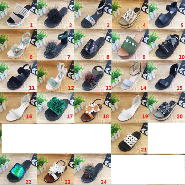 Y159 2018 NEW style Women's Slippers flat with solid Women's Slippers cheap price