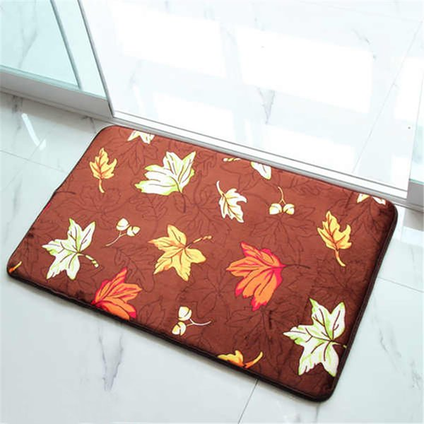 Machine Wash Thicker Non - slip Print Carpets Anti-slip Floor Bathroom Kitchen Mat Outdoor Rugs Front Door Mats #0918