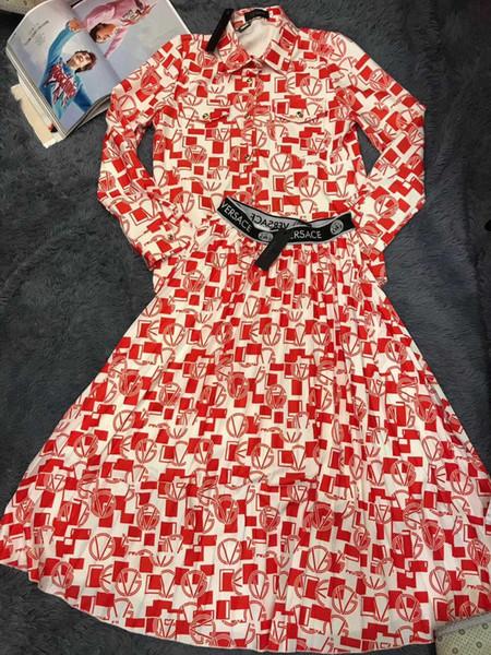 Женская юбка Повседневная мода длинное платье цветочным узором размер S-XL Удобный Простой WSJ015 # 121020 whatsyan08