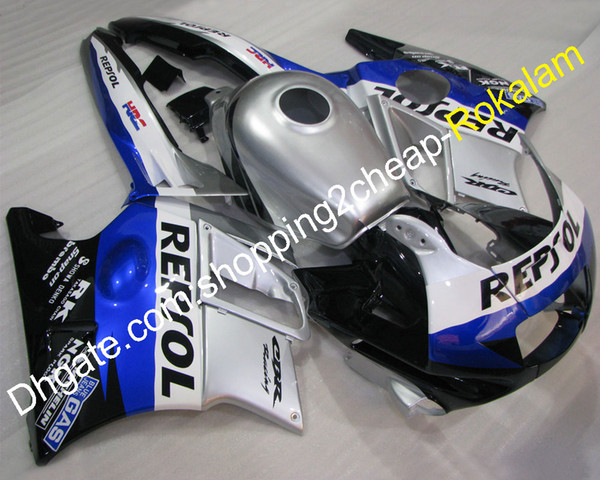 ABS Plastic Fairings For Honda Parts CBR600 CBR 600 F2 1991 1992 1993 1994 CBR600F2 Popular Silver Blue Black Motorbike Fairing Kit