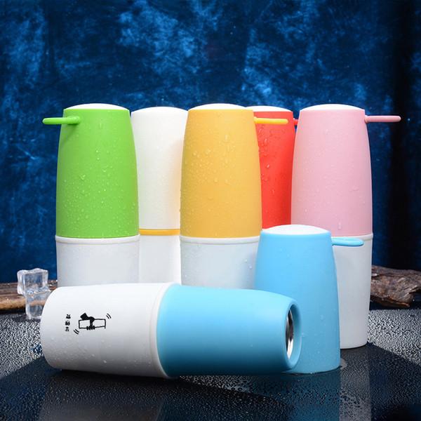 10 oz Milkshake Cup Sports Protein Bottle Sport Leakproof Protein Shaker Bottle Water Bottles Fast Cooling Cups
