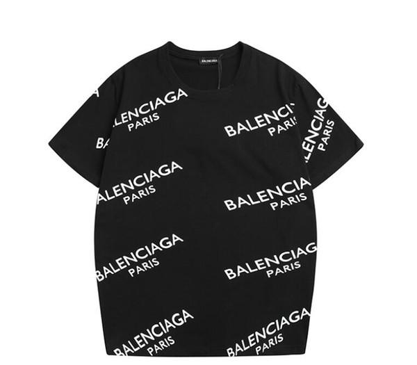 2019 neueste mode sommer aape t-shirt schädel hip hop balenciaga baumwolle supremn t-shirt lässig männer kurzarm tees mens top