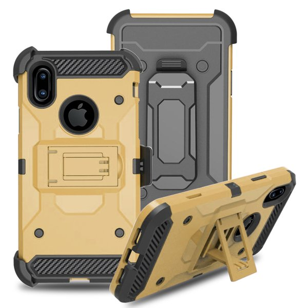 Pour Samsung S10 Plus S10 E Alcatel 1X Evolve Revvl 2 Protection antichoc robuste, étui de ceinture pivotant avec étui de protection pivotant