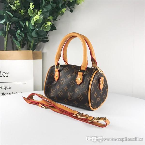 19SS luxurious brand design SPEEDY Full Logos Crossbody Clutch Satchel Women Mini Bumbag Chest pillow packs street Shoulder outdoor Bags