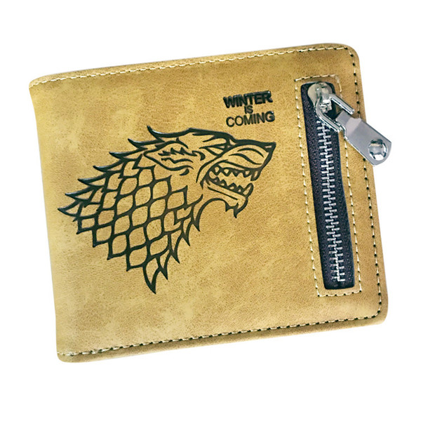 Movie PU Leather Wallet 2 Design Game of Thrones Cartoon Purse Wallet
